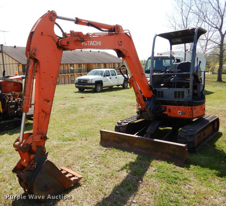 Hitachi ZAXIS 35U mini excavator