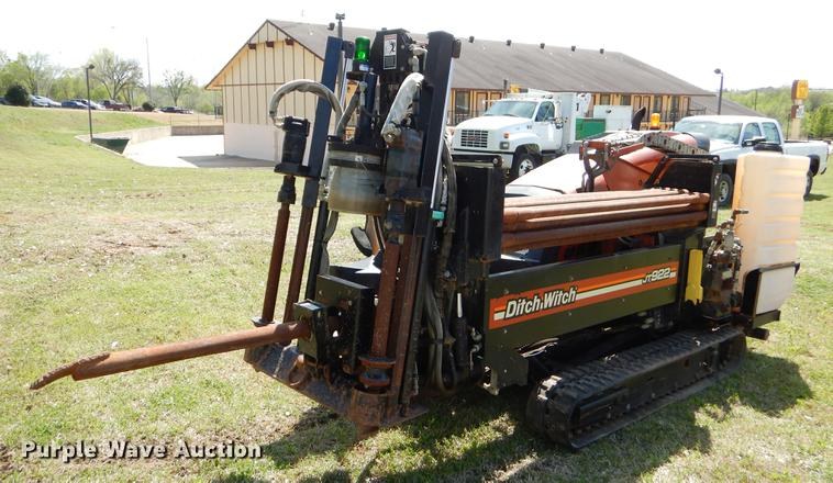 2008 Ditch Witch JT922 directional boring unit