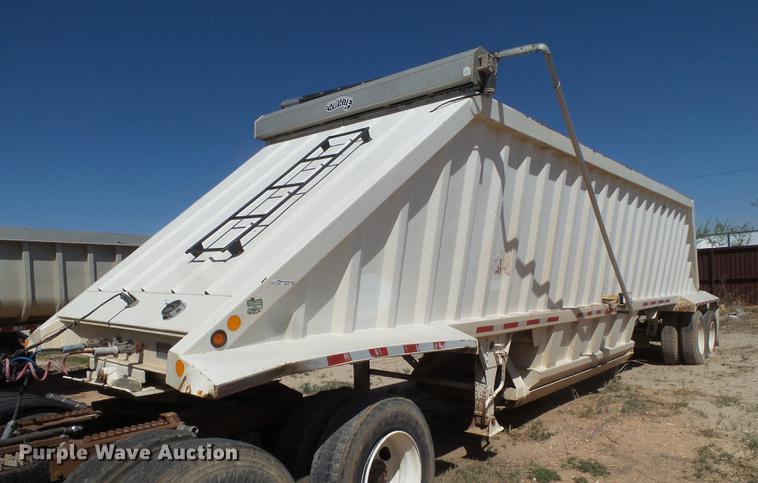 2001 CTS bottom dump trailer