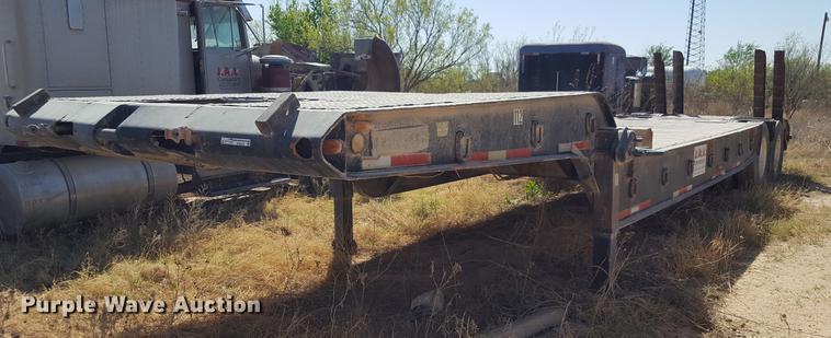 1959 Timpte LOF2T35 drop deck equipment trailer