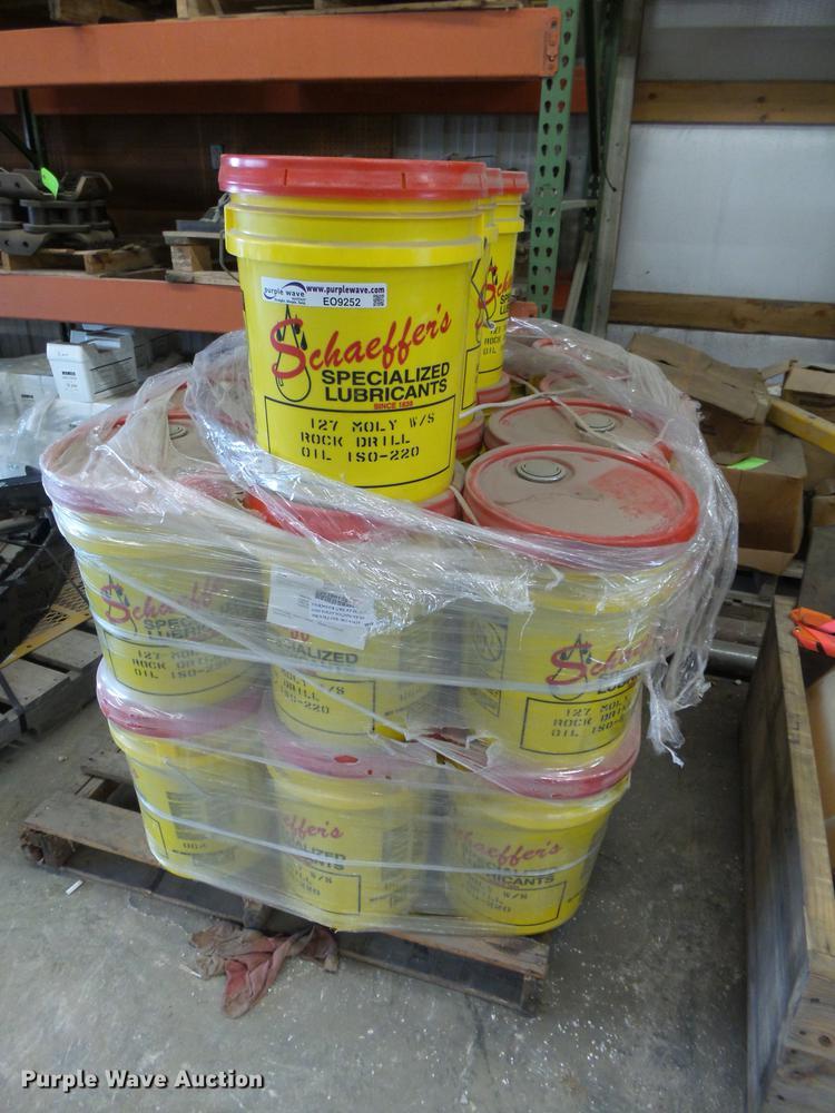 (27) buckets rock drilling tool oil