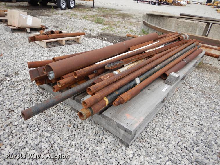 (41) drill rod and scrap