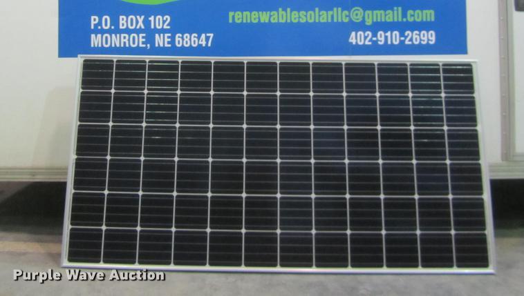 (26) 2018 Mission solar panels