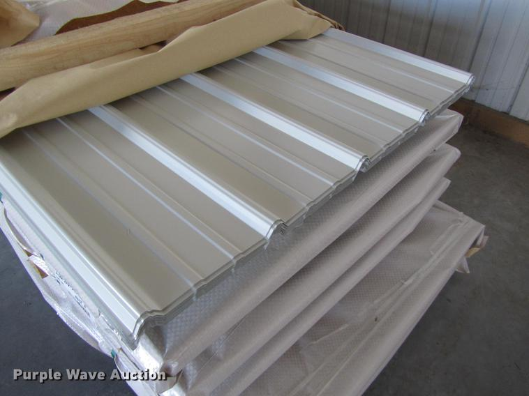 (90) sheets of metal siding/roofing