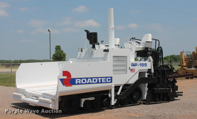 2007 Roadtec RP155 paver