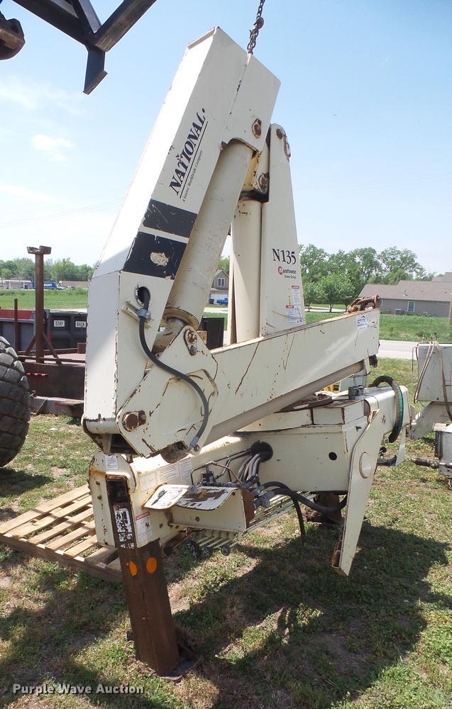 National N135 crane