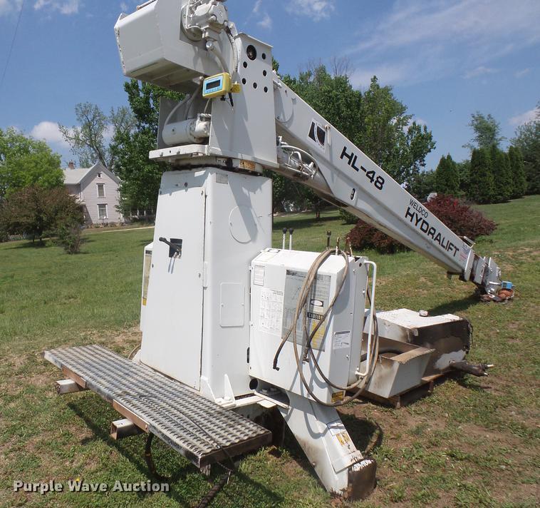 Weldco Hydralift HL-48 crane
