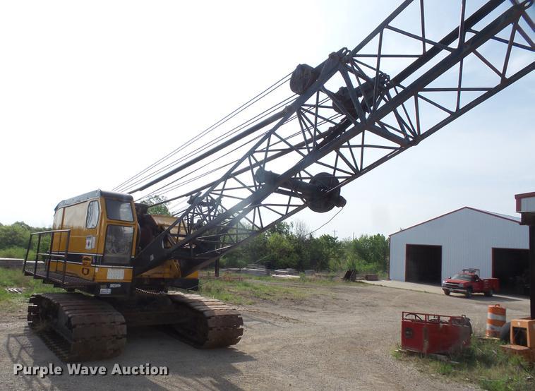 American 595-C crane