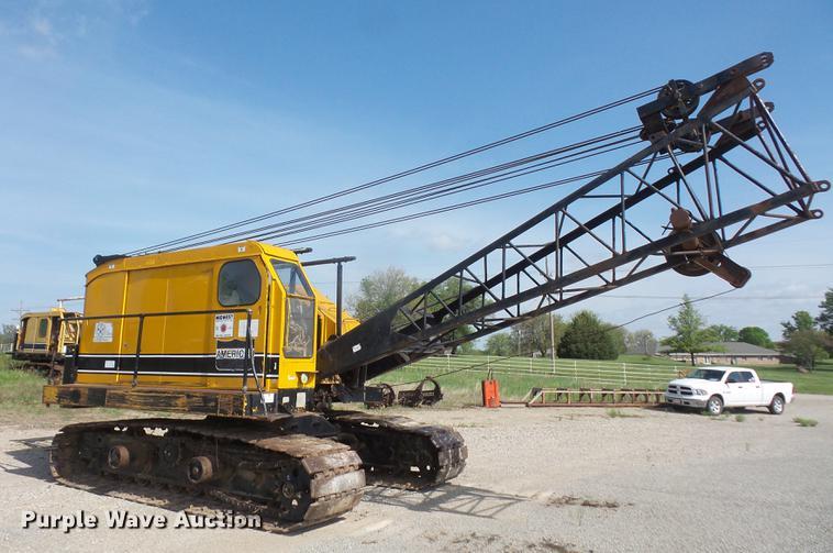 American 599-C crane