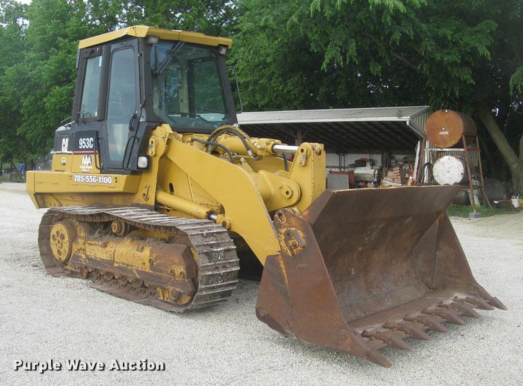 2003 Caterpillar 953C track loader
