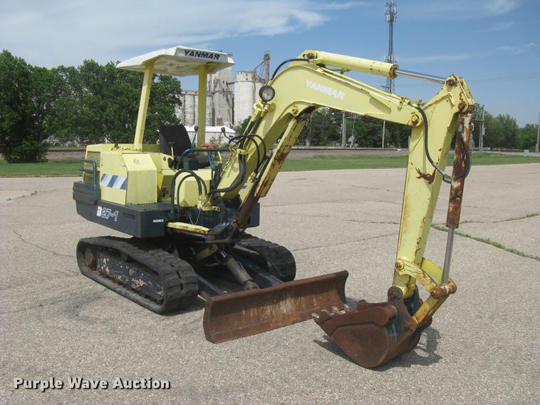 Yanmar B27-1 mini excavator