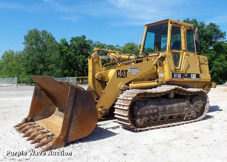 1998 Caterpillar 963B LGP track loader