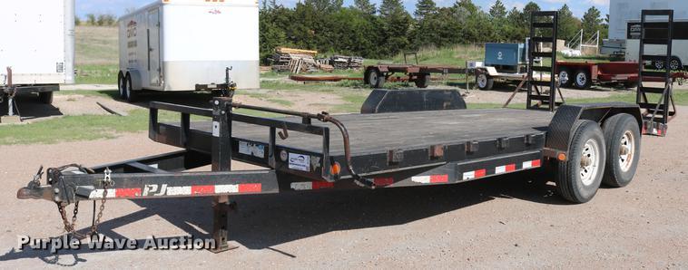 2010 PJ utility trailer