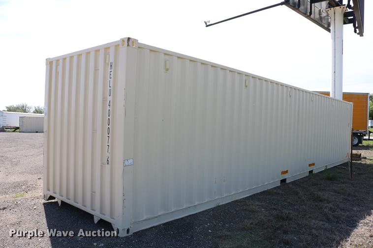 2018 BSL container