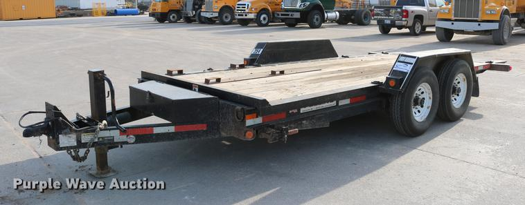 2011 Felling Trailers FT-12IT-E tilt deck utility trailer