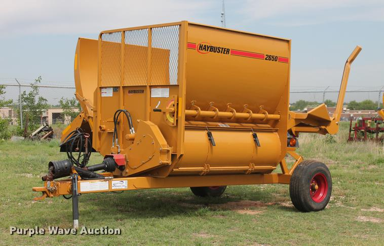 2014 Duratech HayBuster 2650 bale processor