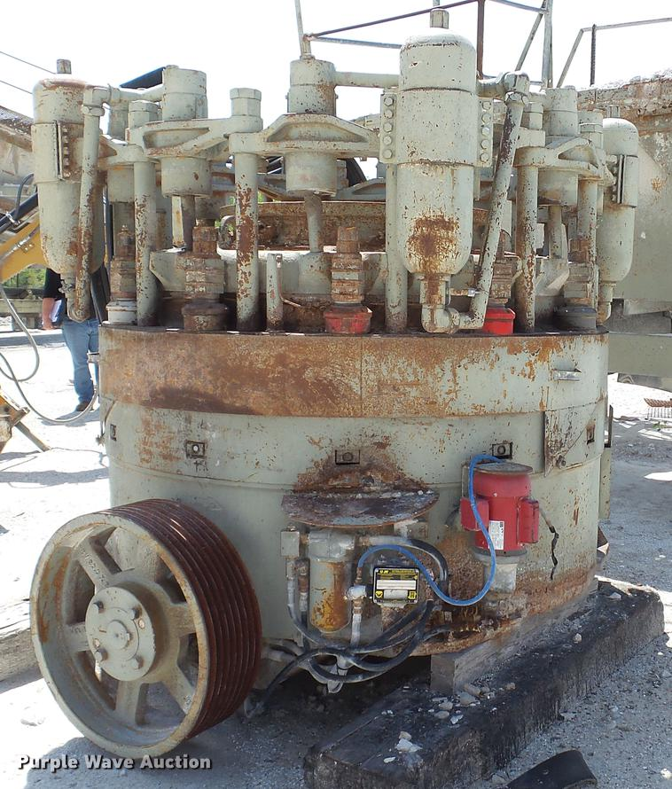 El-jay 54 roller cone crusher