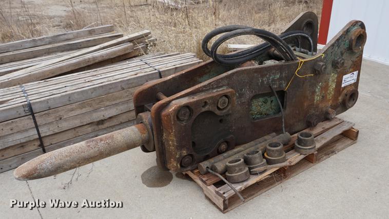 Kent hydraulic breaker