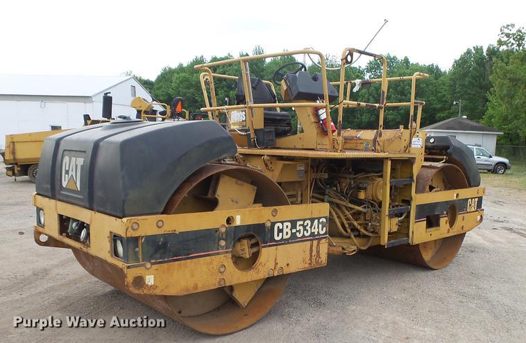 1998 Caterpillar CB534C double drum vibratory roller