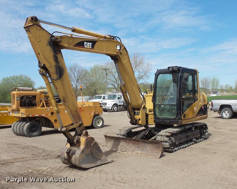 Caterpillar 307C excavator