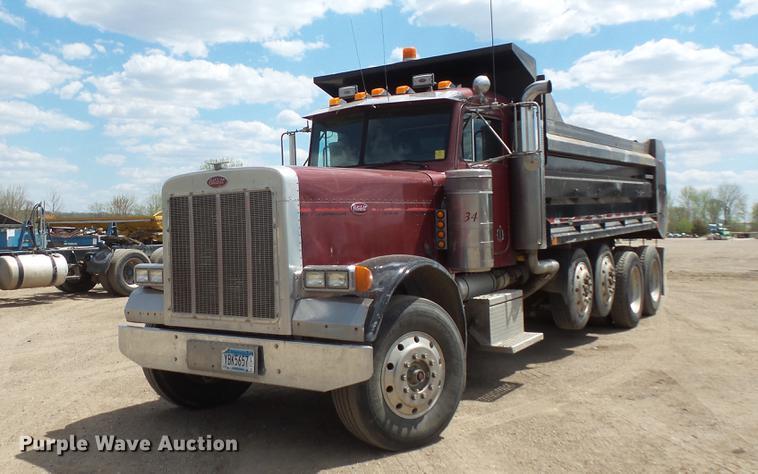 1991 Peterbilt 379 dump truck