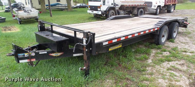 2016 H&H equipment trailer
