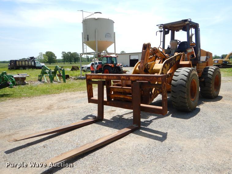 Case 721C wheel loader