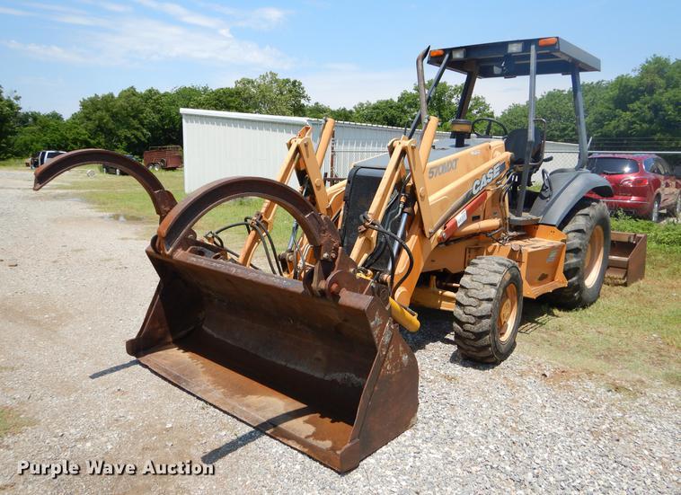 2003 Case 570M XT landscape tractor