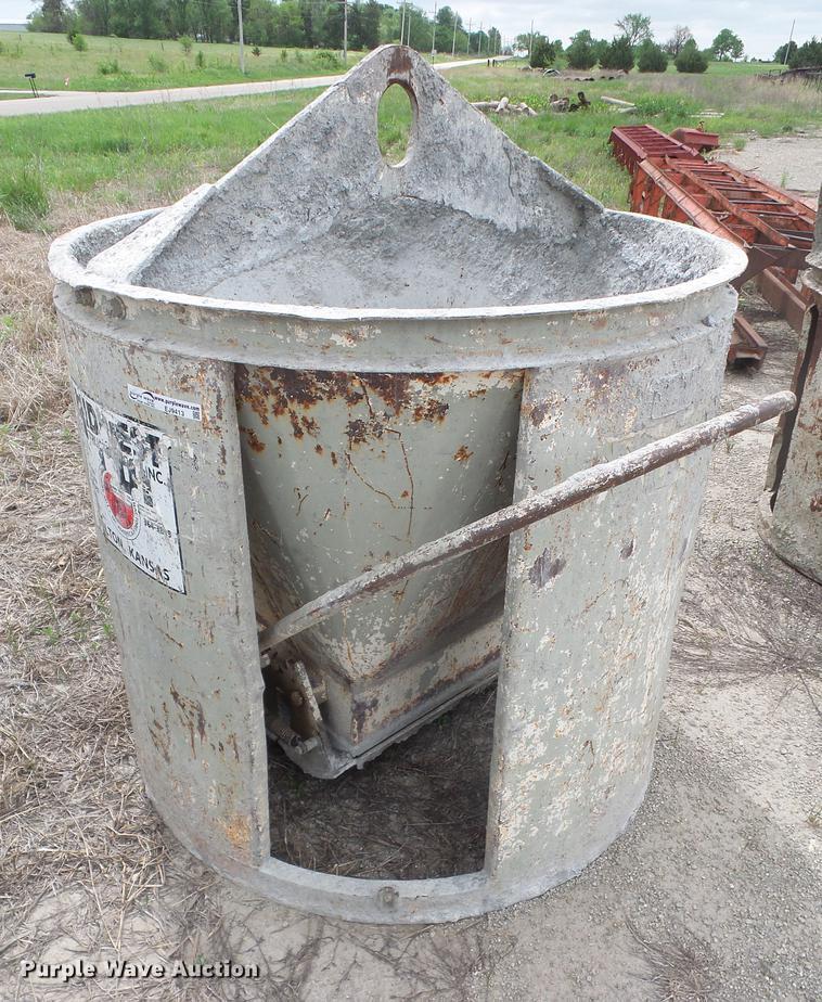 Garbro concrete bucket
