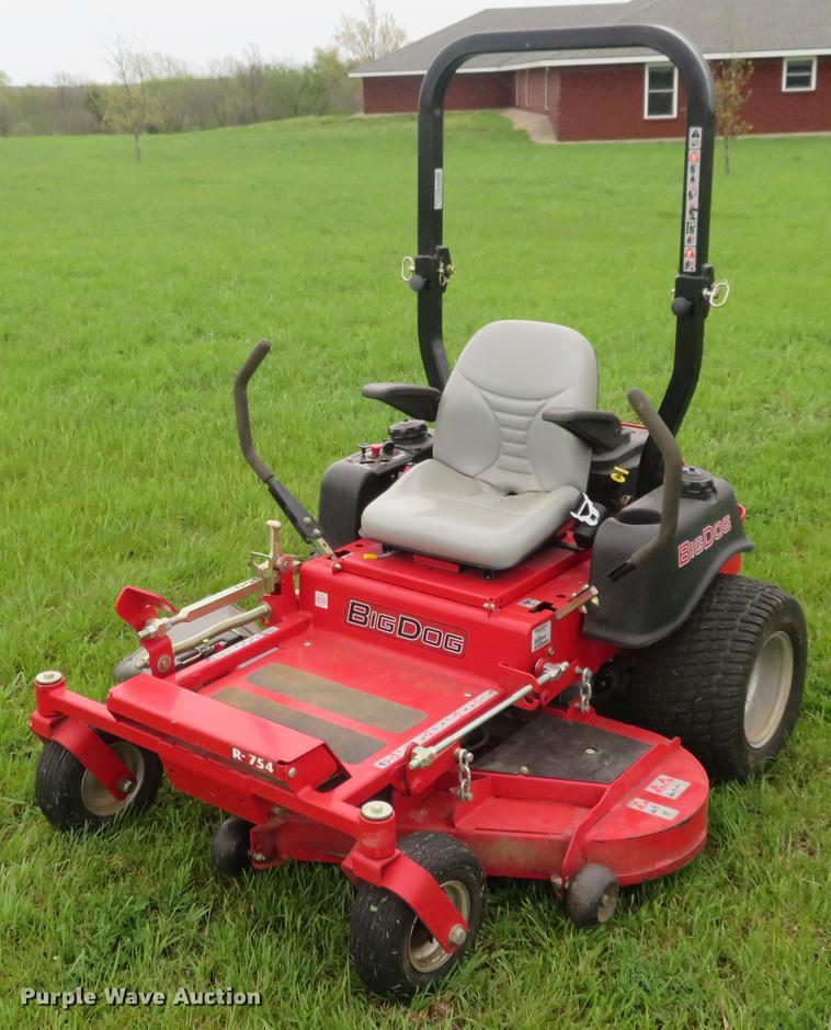 Big Dog R-754 ZTR lawn mower