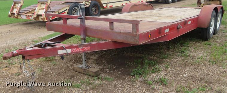 2009 Branson tilt deck utility trailer