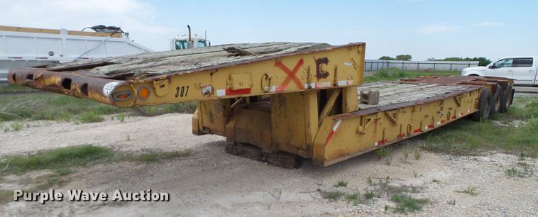 1966 Timpte equipment trailer