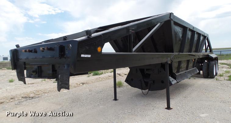 1990 Freuhauf DES-M2-M20/90A bottom dump trailer
