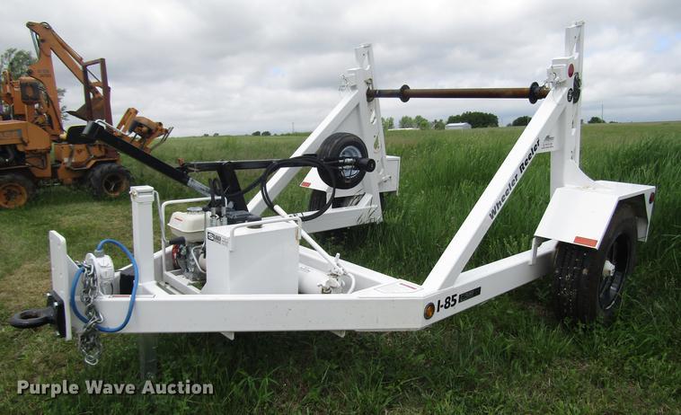 2018 Slabach 1-85 Wheeler Reeler reel trailer