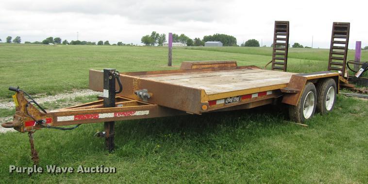 2010 Redi Haul FSL1621 equipment trailer