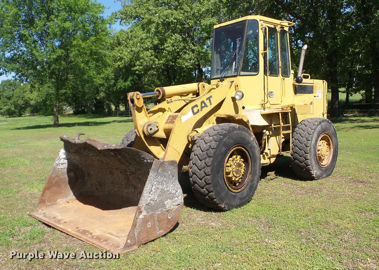 1989 Caterpillar 926E wheel loader