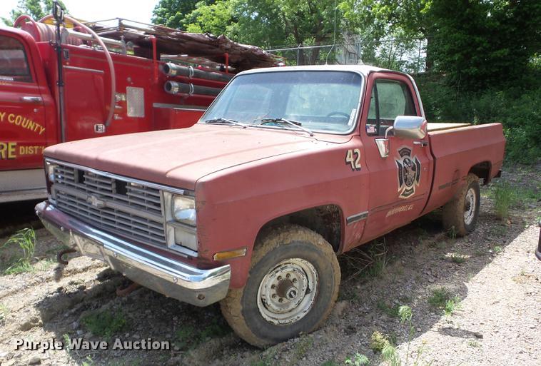 1983 Chevrolet 20 pickup truck