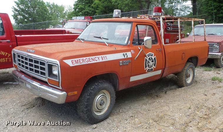 1982 Dodge W350 pickup truck