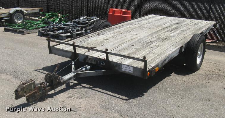 1988 JFW B1F8W6 flatbed trailer
