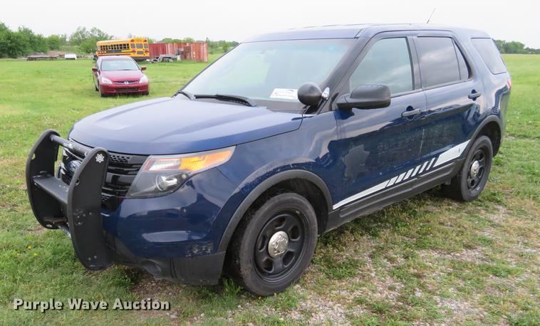 2013 Ford Explorer Police Interceptor SUV
