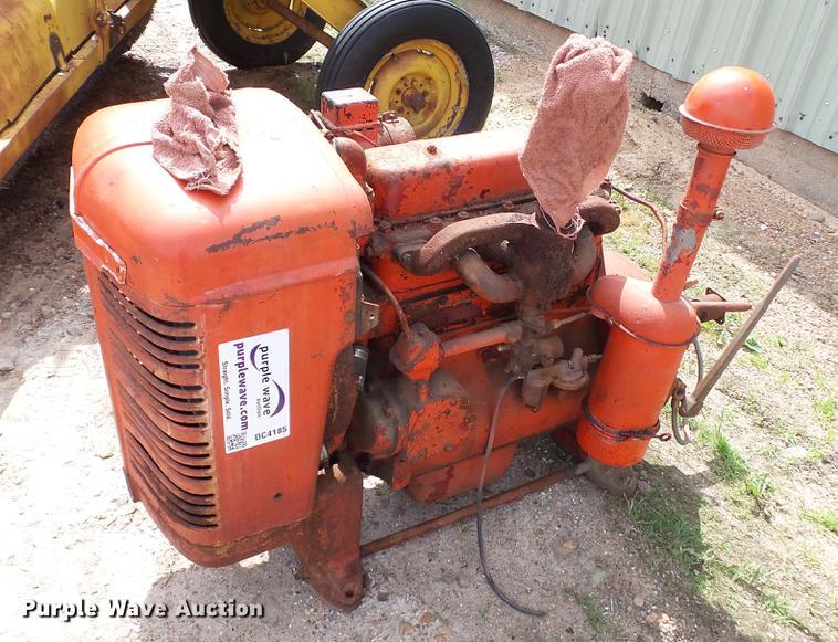 International four cylinder gas engine