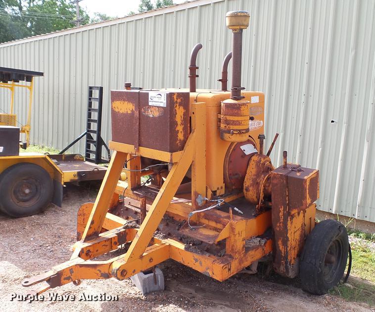 Wausau asphalt shilling rotary tiller