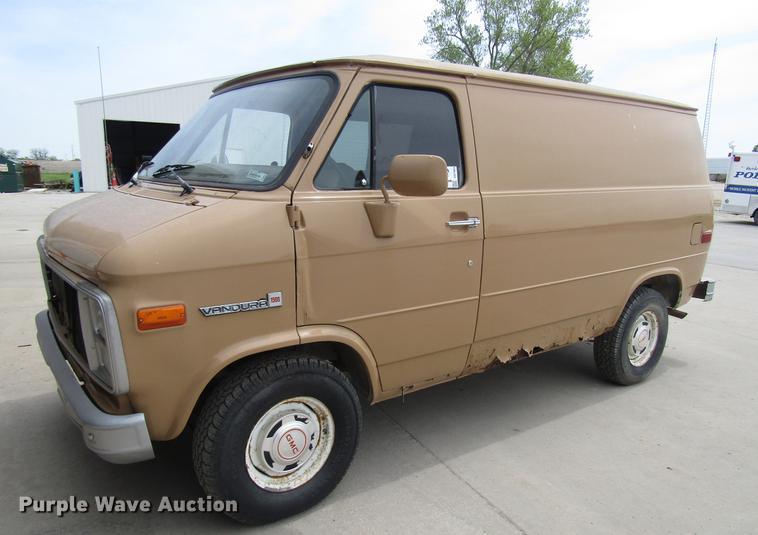 1989 GMC Vandura G1500 van