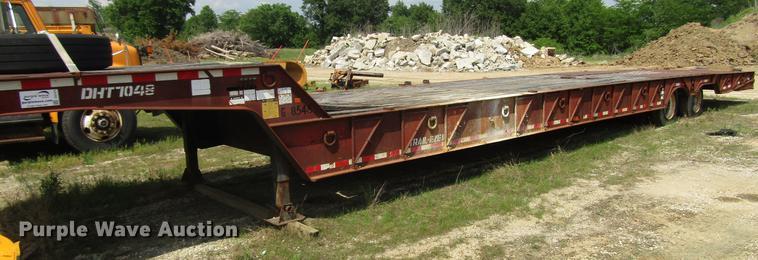 1997 Trail-Eze DHT7048 equipment trailer
