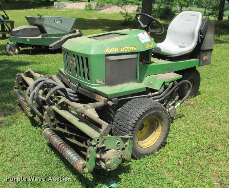 John Deere 2653A reel mower
