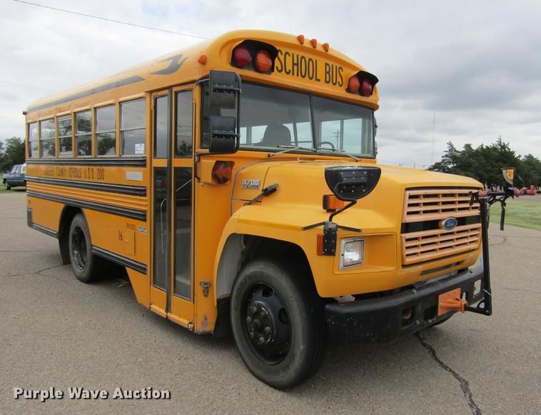 1994 Ford B700 Blue Bird school bus