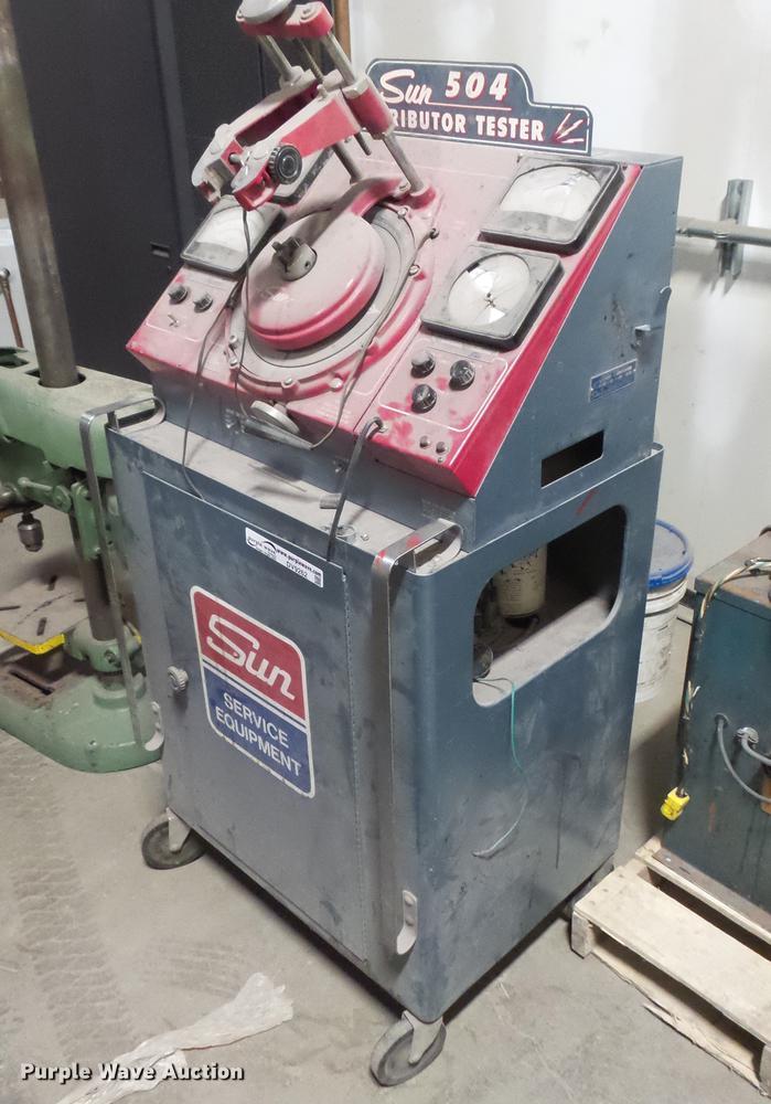 Sun DT504 distributor tester