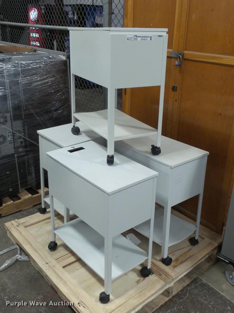 (4) cabinets