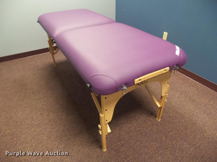 (6) NRG portable massage tables