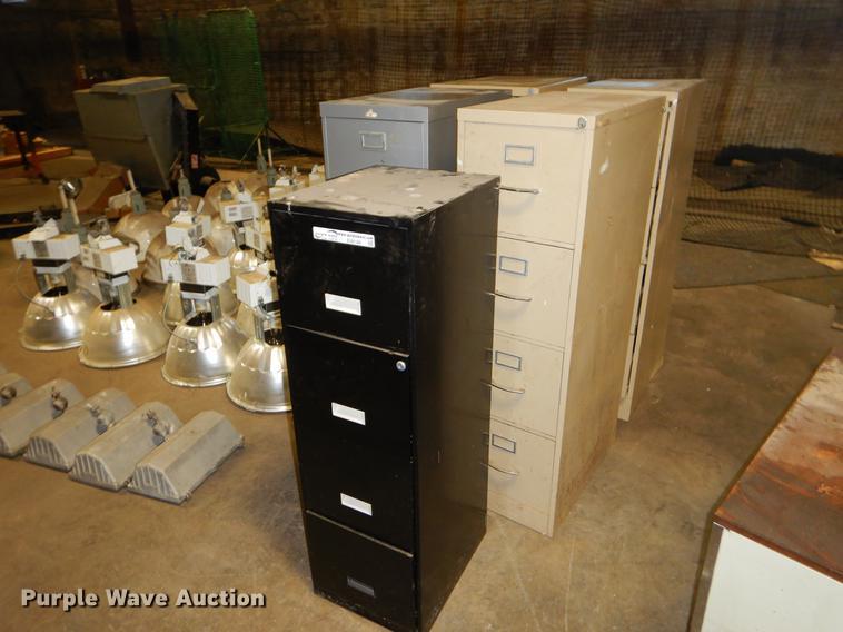 (5) file cabinets